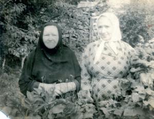 Мон. Иерофея и послушница Анна Проворкина