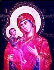 Плачущая Копенгагенская икона Матери Божией