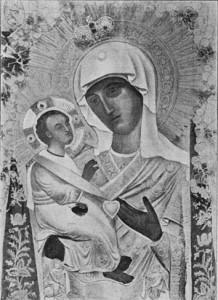 Иерусалимская икона Божией Матери - главная святыня Кривоезерской пустыни