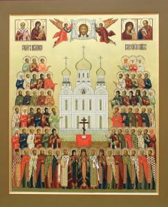 Икона Собора Иваново-Вознесенских святых