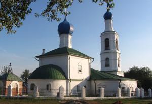 Никольский храм города Касимов