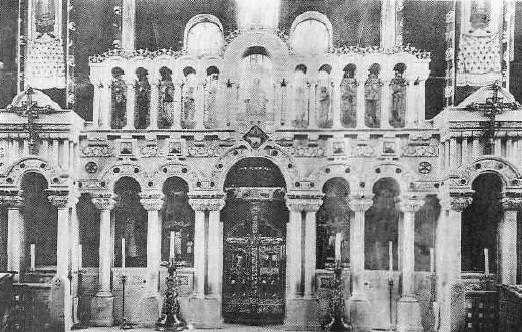 Иконостас Спасского храма