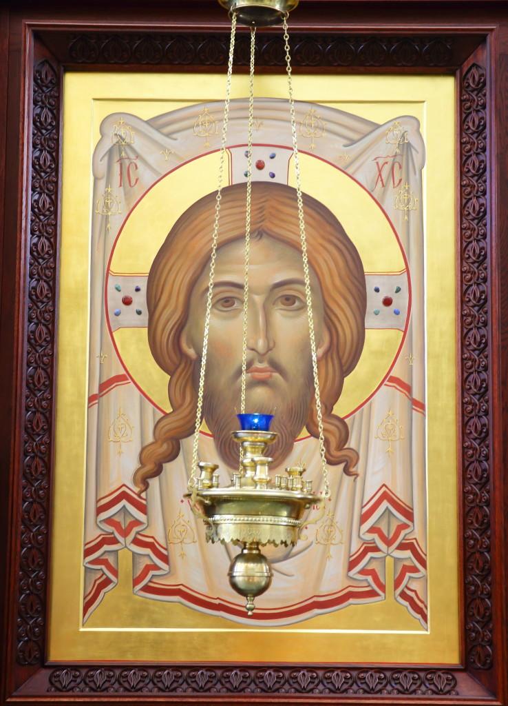 Нерукотворный Образ. Икона Успенского собора