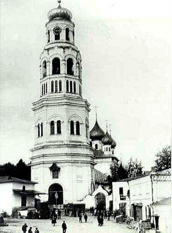 Колокольня Крестовоздвиженского комплекса