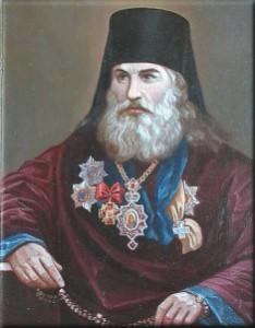 Епископ Сергий - 1896- 1902 гг. - из собрания портретов астраханских иерархов, Архиерейский дом, г.Астрахань